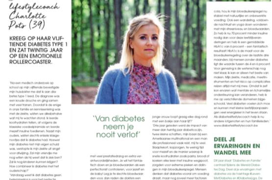 Goed Gevoel -'Van diabetes neem je nooit verlof'