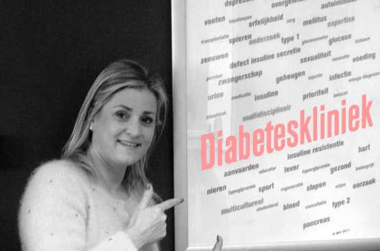 Op controle bij je 'diabetesarts'