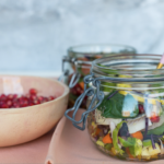 a salad in a jar
