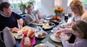 ontbijt keto gezin