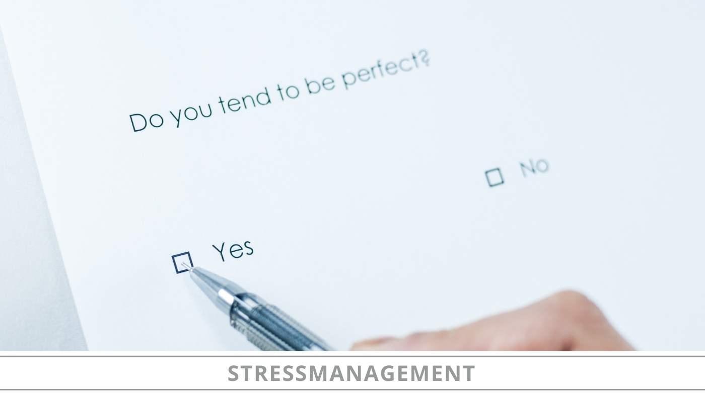 Stoppen met perfectionisme